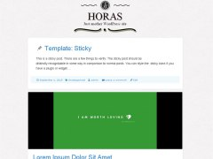 horas-Wordpres-theme