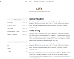silvia-WordPress-theme-