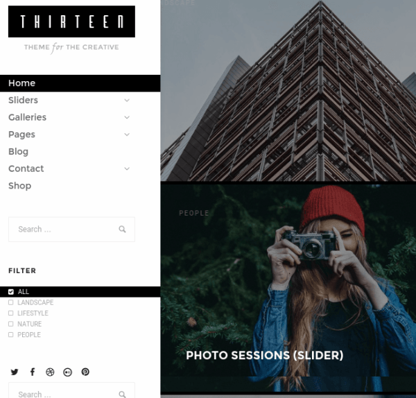 thirteen-WordPress-theme