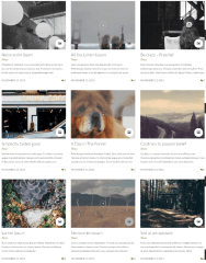 3-Column blog page of Leka theme