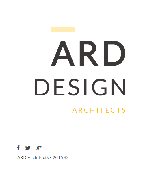 ARD – Responsive Architect WP theme
