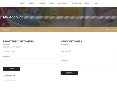 Account Page – Alteration Shop