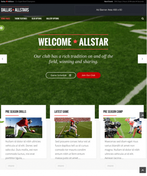All star homepage