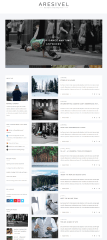 Aresivel – homepage
