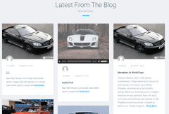 Blog Section of Automan