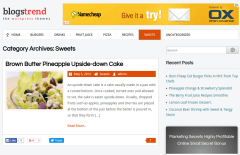 BlogsTrend Sweets Page