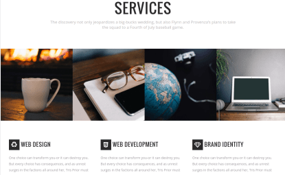 Brehoh Services Page