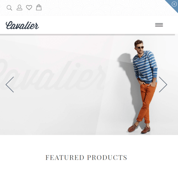 Cavalier – WooCommerce Responsive WordPress theme