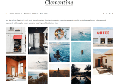 Clementina Gallery Page