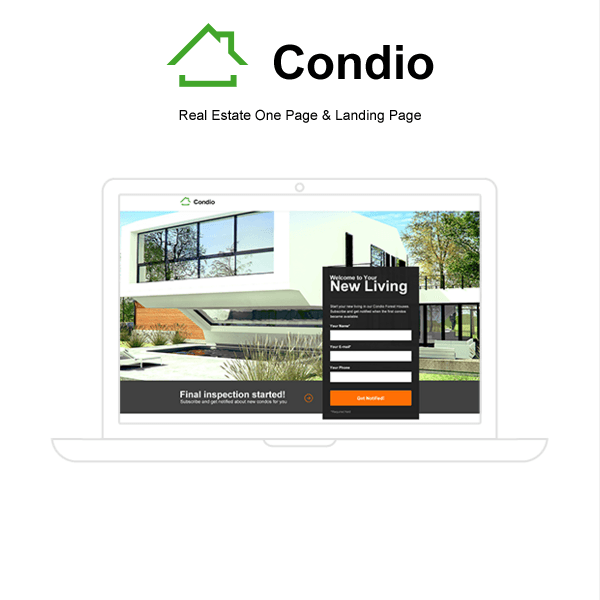 Condio - Single Property Real Estate Theme