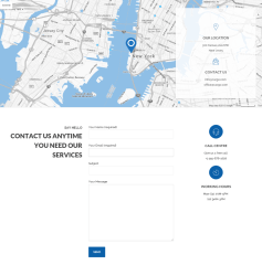 Contact Page – Cargo