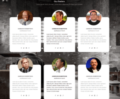 Credo theme – Pasters page