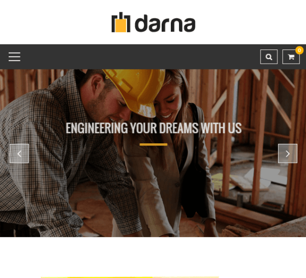 Darna – Building and construction WordPress theme