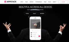 Device Page – AppStack
