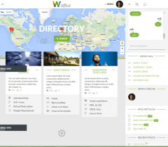 Directory page – Woffice