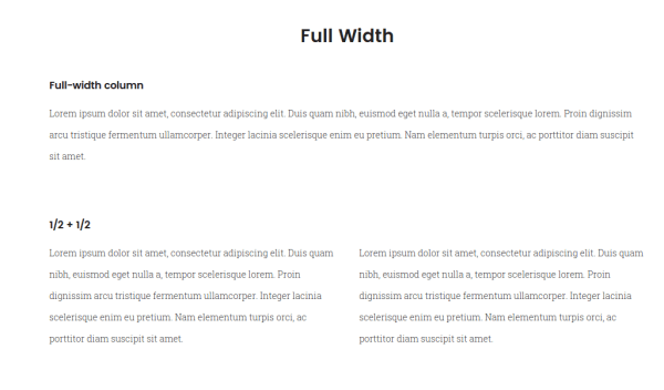 Duine Full Width Page