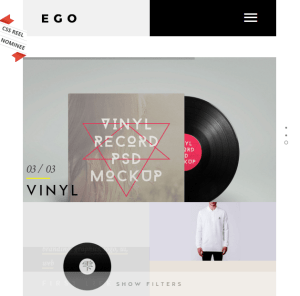 Ego - Multiconcept Portfolio WordPress theme