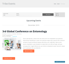 Events Page – Good Energy