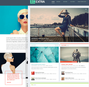 Extra - Fully Responsive Magazine WordPress theme