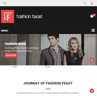 Fashion Feast - Responsive WordPress theme for Ecommerce Websites png