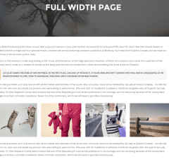 Full Width Page – TopPic