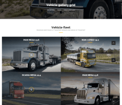 Gallery Grid Page – Trucking