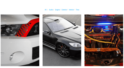 Gallery Page of Automan