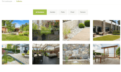 Gallery of Landscaper theme