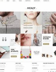 Heajy WordPress Theme
