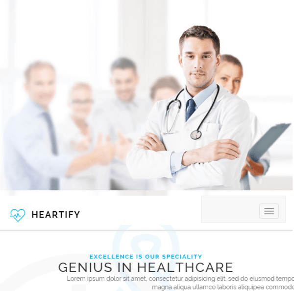 Heartify - Medical WordPress theme