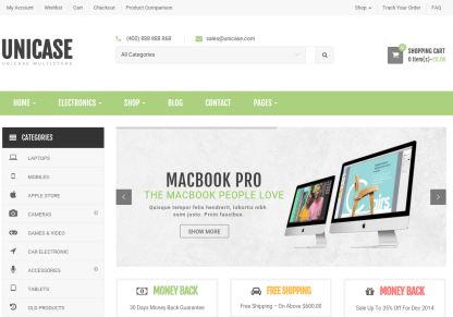 Home Page of Unicase
