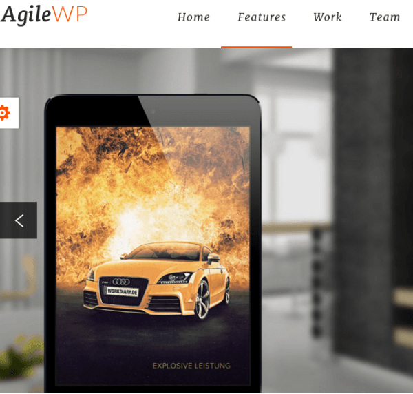 Agile – Fully Responsive Business WordPress theme