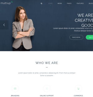 Homepage of Multi-up