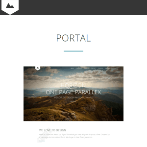 Horizon - Creative One Page Multi-Purpose Retina Theme