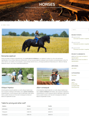 Horses Page – CountryHolidays