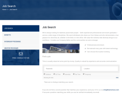 Jobs Page – Builder