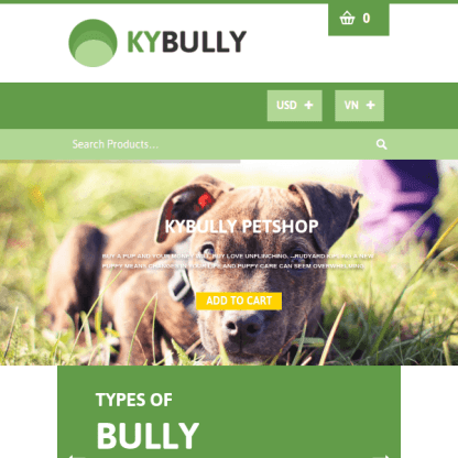 Kybully - Responsive WooCommerce Shopfront Theme