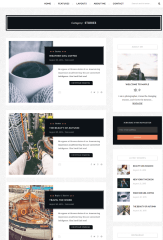 List Layout of blogs – Maple