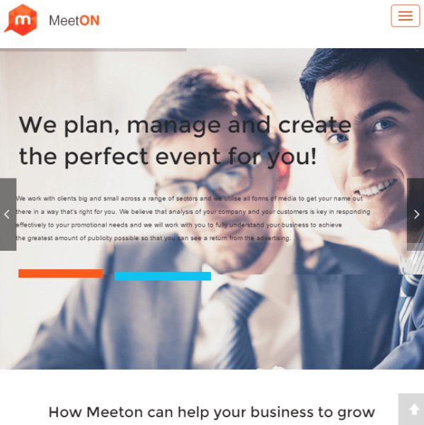 Meeton – WordPress theme for Events.