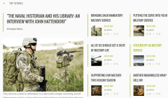 Military Top Stories Section