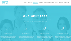 NRG Hospital Services Page