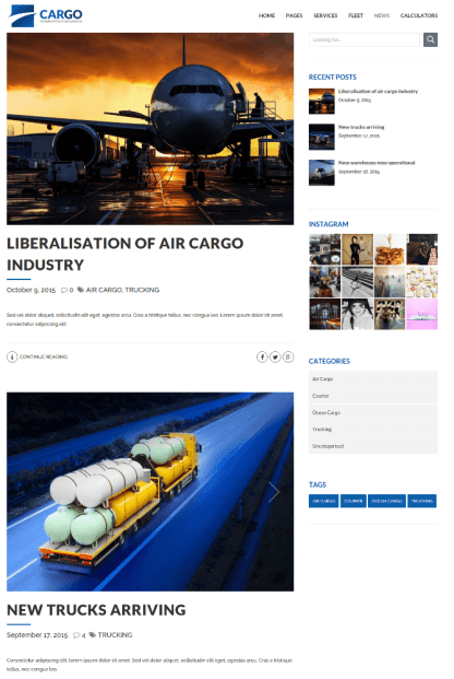 News Page - Cargo