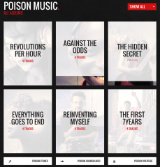 Poison Album List – poison
