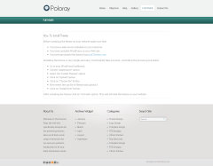 Poloray- Fullwidth page template
