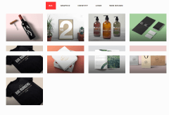 Portfolio of Piper theme