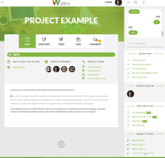 Project page – Woffice