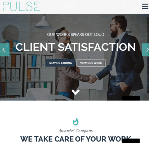 Pulse - One page + premier business WordPress theme - Copy - Copy