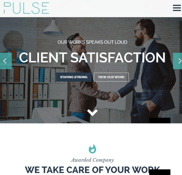 Pulse – One page + premier business WordPress theme – Copy – Copy