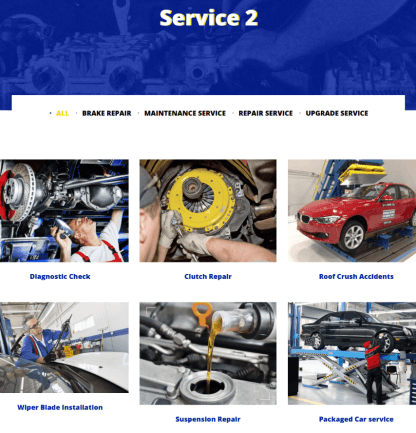Services Page - Pearle