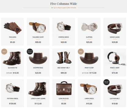 Shop Gallery Page - Hudson